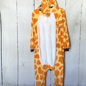GIRAFFE adult costume pajamas